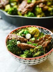 Paleo Beef and Broccoli Recipe High Protein Gluten Free Dairy Free Dinner | ahealthylifeforme.com