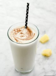 Pineapple Protein Smoothie High Protein Gluten Free Recipe | ahealthylifeforme.com