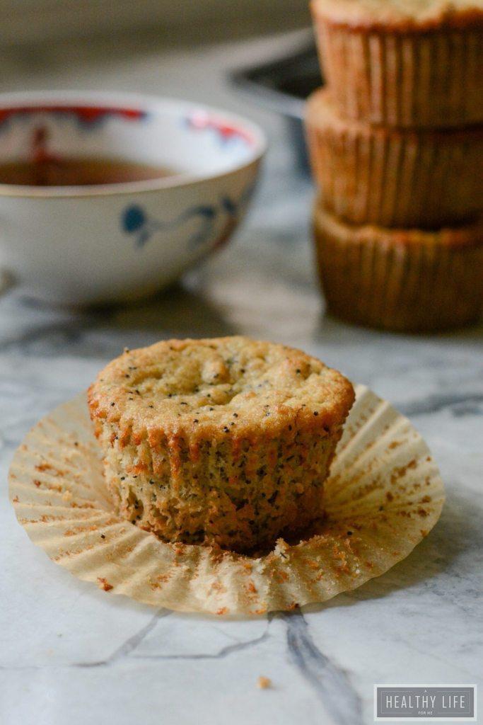 Paleo Banana Poppyseed Muffins Recipe   ahealthylifeforme.com