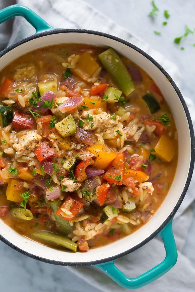 healthy-cajun-chicken-orzo-2