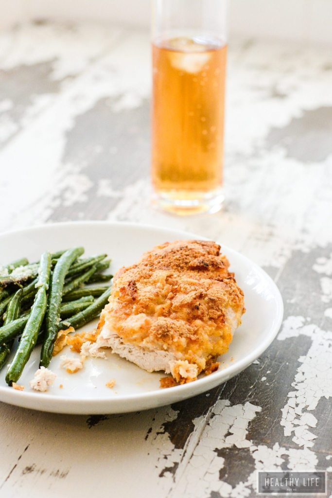 Gluten Free Oven Fried Chicken is a healthy twist on the classic fried chicken but with lower calorie and fat count   ahealthylifeforme.com