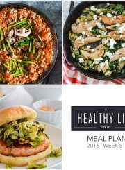 Healthy Weekly Meal Plan for the whole family | ahealthylifeforme.com