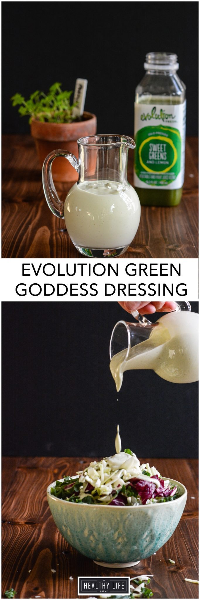 This simple Green Goddess Dressing is the perfect all around salad dressing, vegetable dipper or cracker spreader.