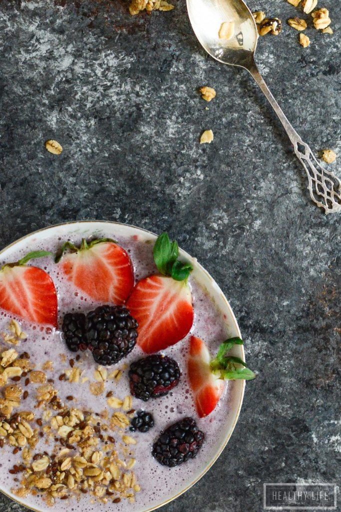 Pineapple Protein Smoothie Bowl is the way you want to start your day