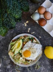 Paleo Cauliflower Avocado Egg Bowl Recipe healthy good for you recipe | ahealthylifeforme.com