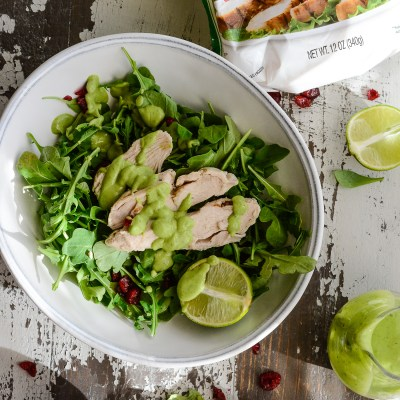 Avocado Lime Cilantro Dressing