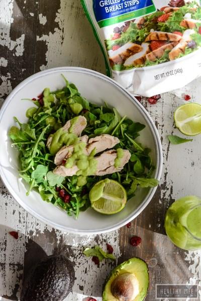 Avocado Lime Cilantro Dressing