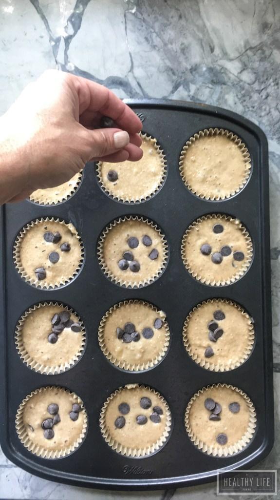 Banana Peanut Butter Muffins-3