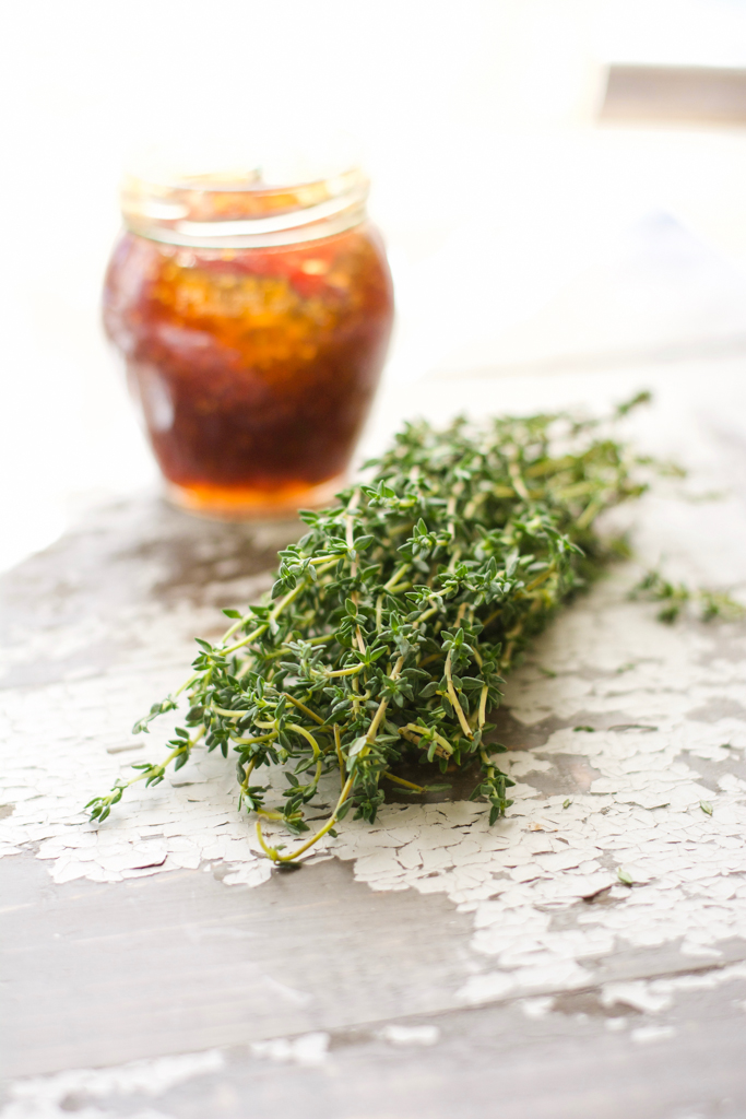 Simple Fig Sauce with Fresh Thyme