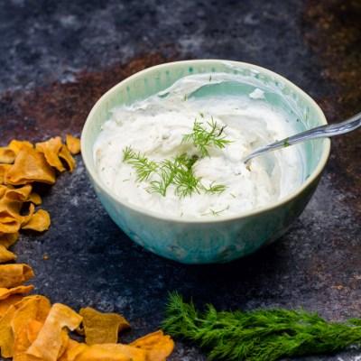Healthy Greek Yogurt Ranch Dip