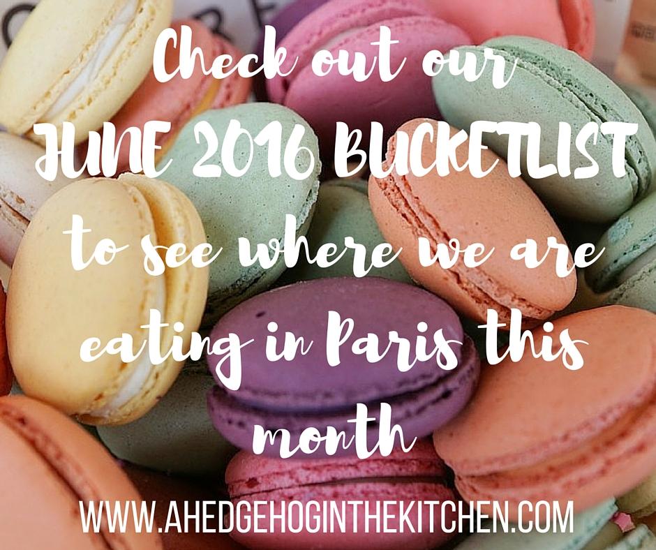 Our Paris Bucketlist