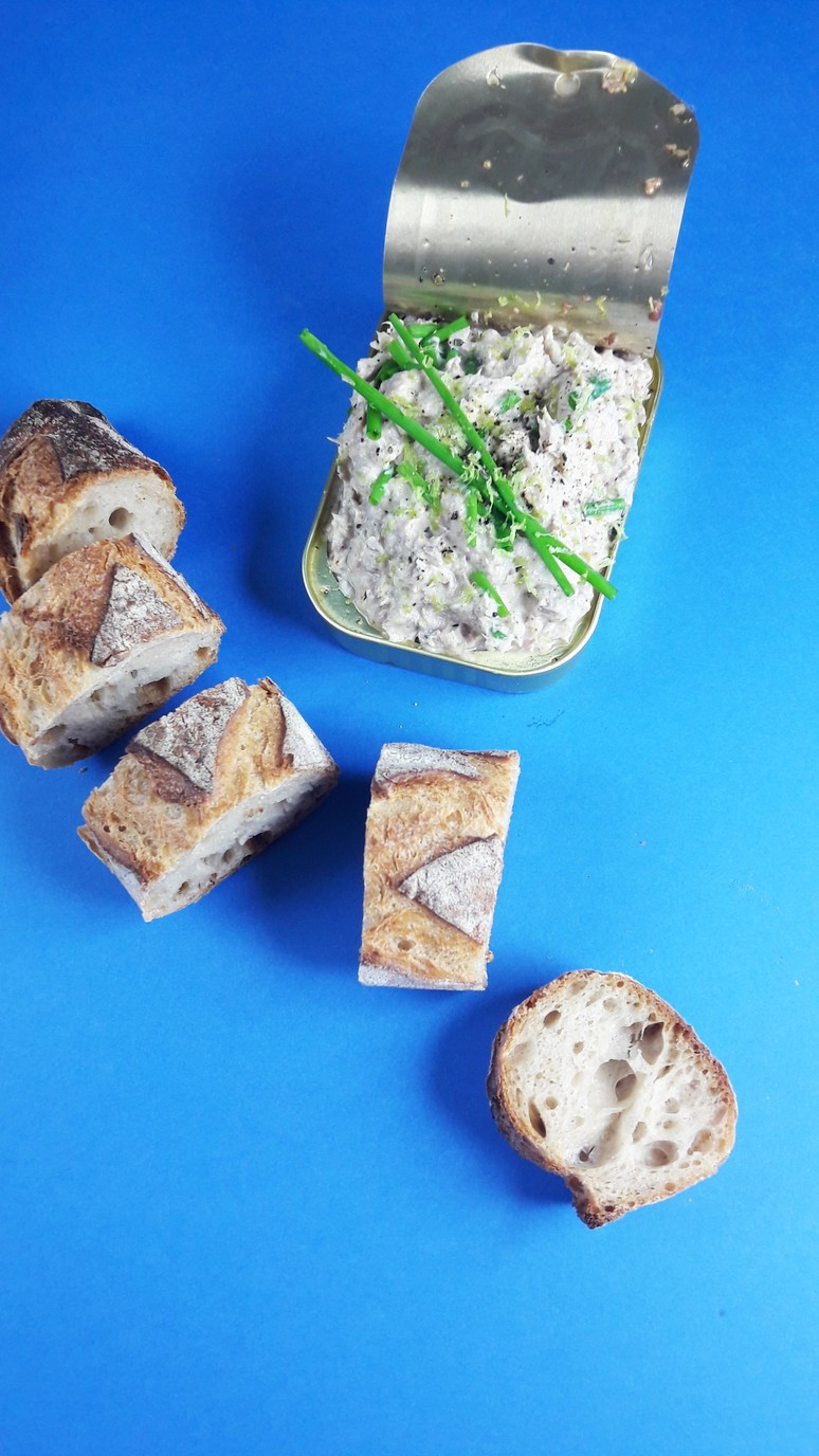 sardine rillettes