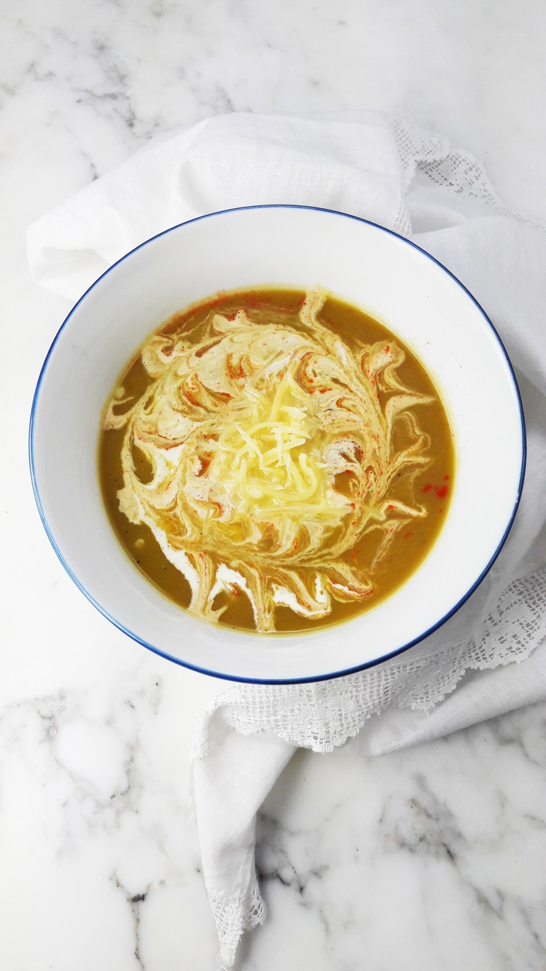 Leek sweet potato soup. This soup is healthy, quick to make and very tasty!   ahedgehoginthekitchen.com