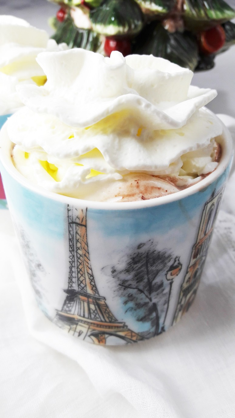 Romantic breakfast ideas for Valentine's Day? | The BEST French Hot Chocolate. | ahedgehoginthekitchen.com