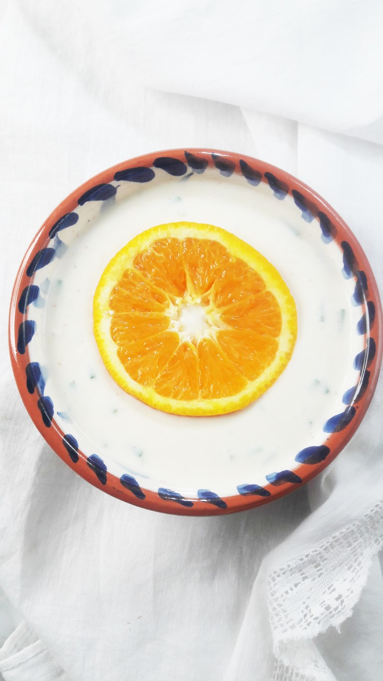 Greek yogurt salad dressing with orange and honey! It's the absolute best Summer salad dressing. Period. | ahedgehoginthekitchen.com