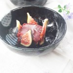 Heavenly fig sorbet