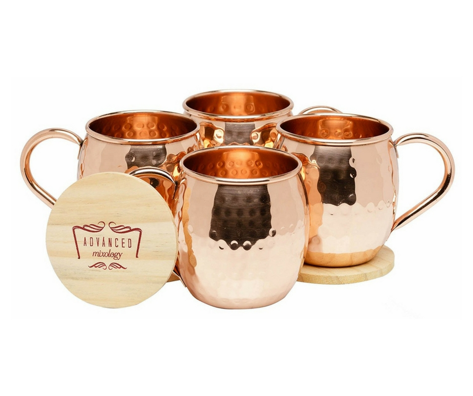 Gift Guide from Our Parisian Home. Copper Moscow Mules. | ahedgehoginthekitchen.com