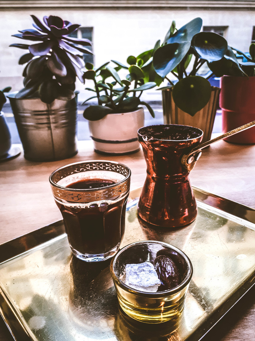 Ibrik Café - authentic Turkish coffee in Paris | ahedgehoginthekitchen.com