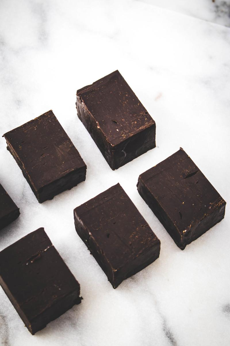 Easy orange chocolate fudge recipe