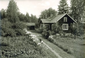 My childhood home in the mid. of 1950's