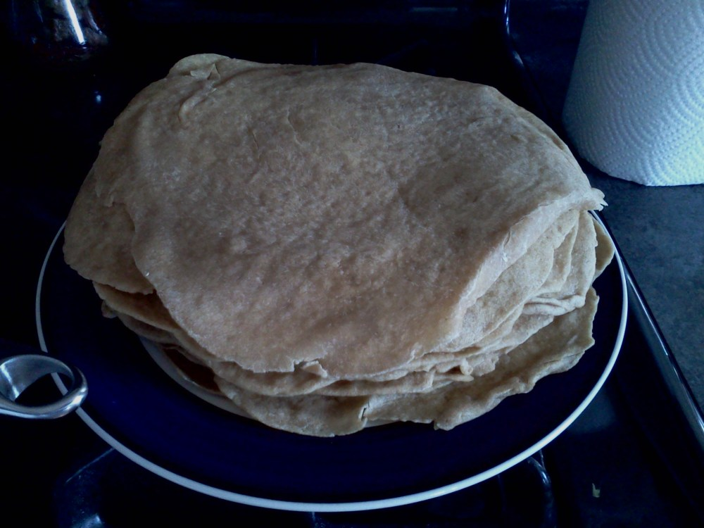 Whole Wheat Sourdough Tortillas Recipe | A Helping of Hope (4/4)