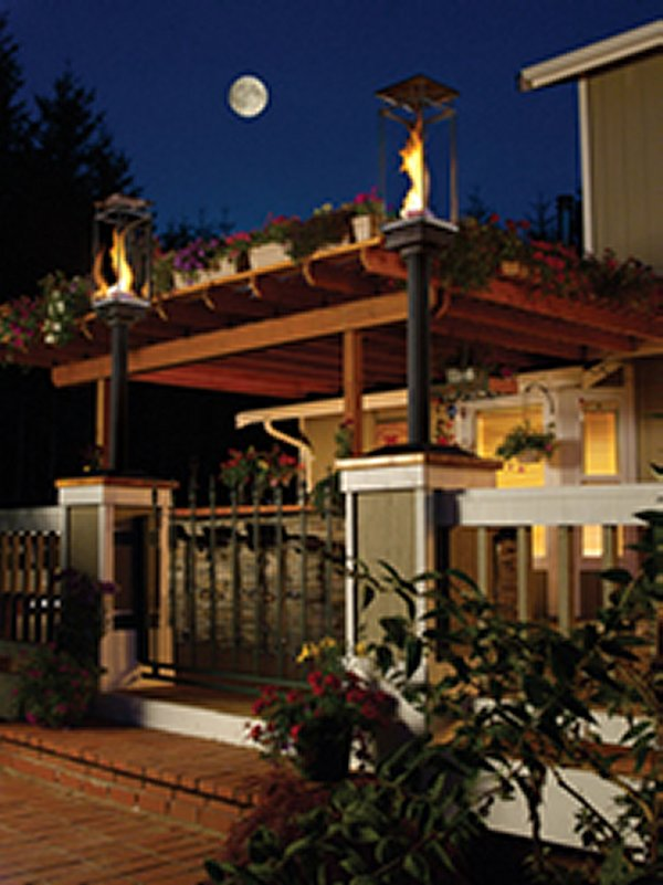 Tempest Outdoor Lighting  American Home Fireplace  Patio
