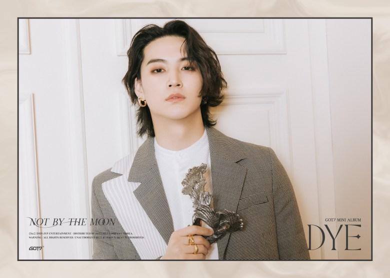 JB 2nd teaser image for DYE comeback