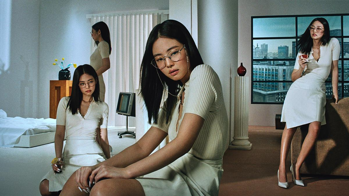 Jennie and Gentle Monster Collaboration - Jentle House