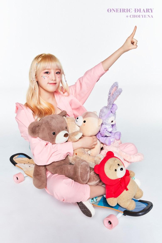 Choi Yena from IZONE for Oneiric Diary comeback