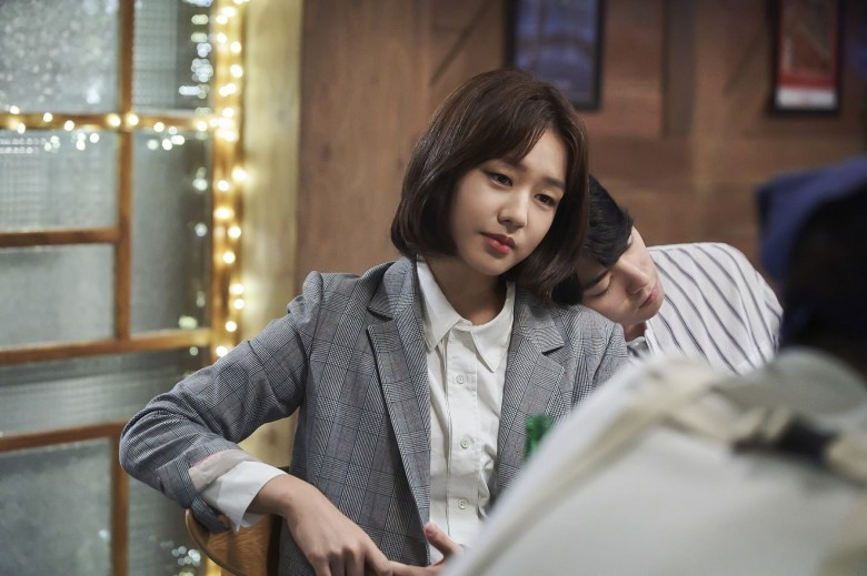 Ahn Eun Jin as Kim Young Hee in Chances of Going from Friends to Lovers.