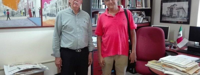 Nos Visita Rigoberto Brito, Cronista de Concordia