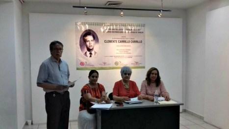 Recordatorio del Poeta Clemente Carrillo Carrillo