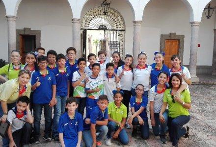 Nos Visitan de la Escuela Nhuman