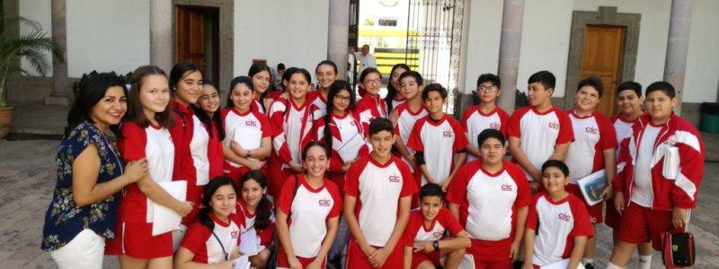 "Visita Alumnos 1ero Secundaria ""Perú"" al AHGS"