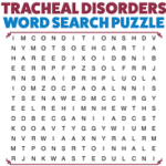 Tracheal Disorders - Word Search Puzzle