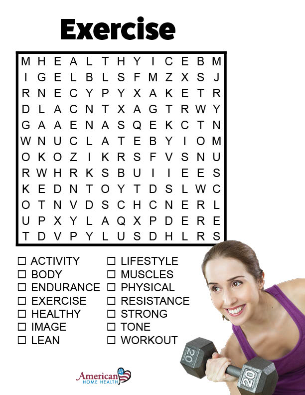 Exercise - Word Search Puzzle