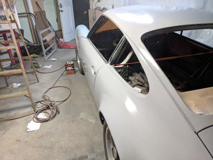 My porsche 911 Project Advances To the Bodywork Phase - Ahh