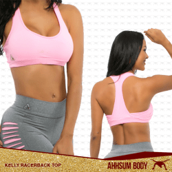 KELLY RACERBACK TOP #ABAKRBT