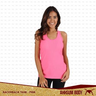 Racerback Tank Pink #ABARTPINK