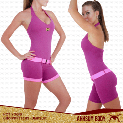 Hot Yogis Crossfitters Jumpsuit