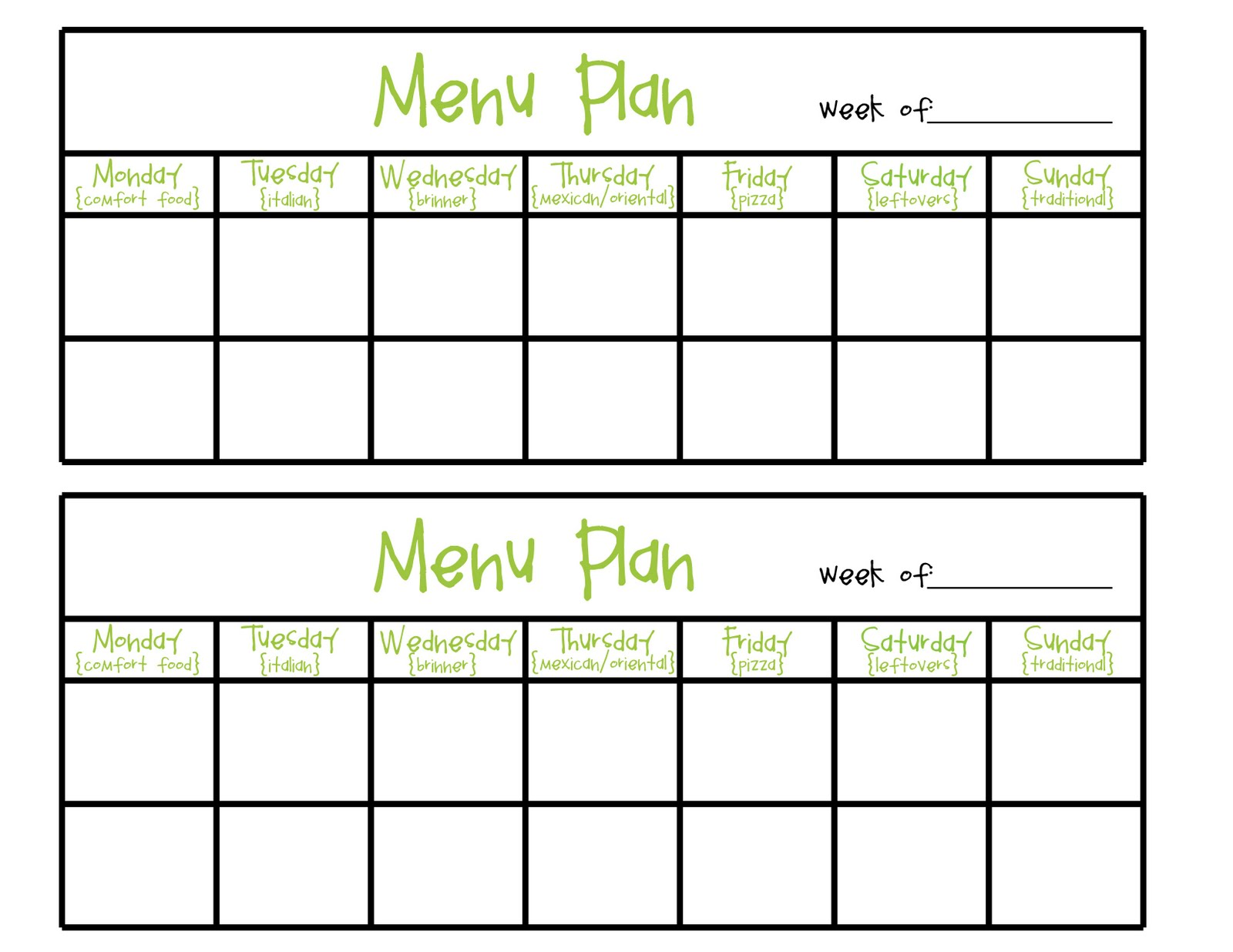 Menu Planning Ahia Online Food And Lifestyle Community
