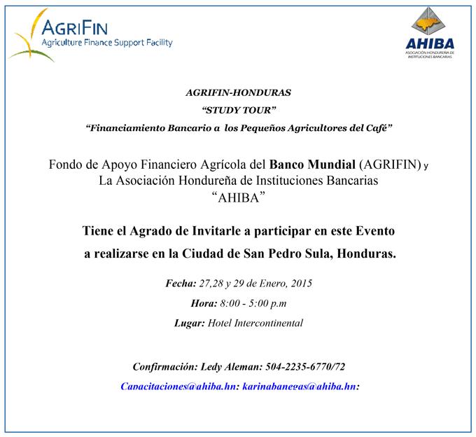 Banco Mundial Agrifin Y Ahiba Te Invitan Al Evento Study