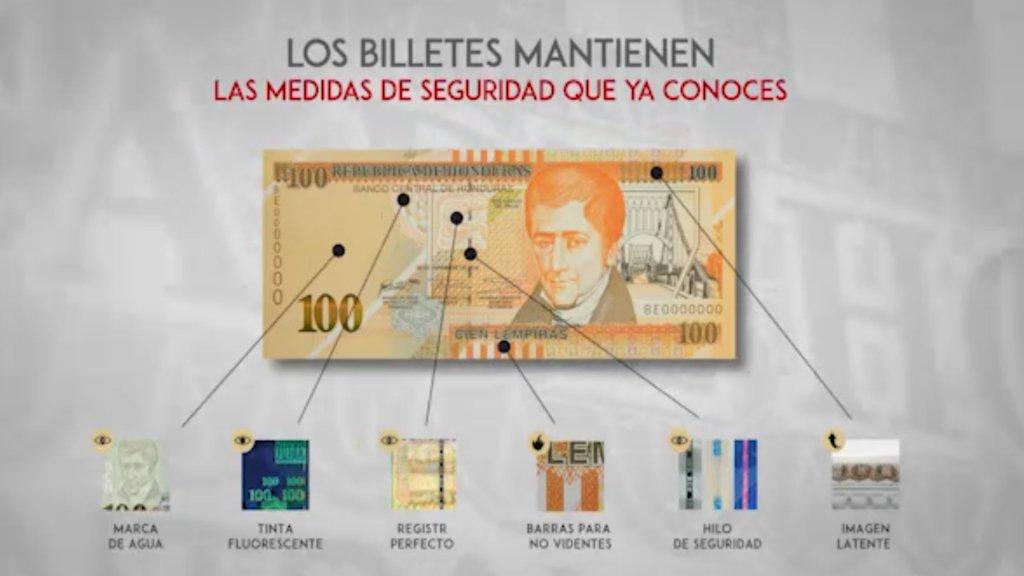 BCH Emite Nuevos Billetes Con Nuevas Medidas De Seguridad Y Diseño