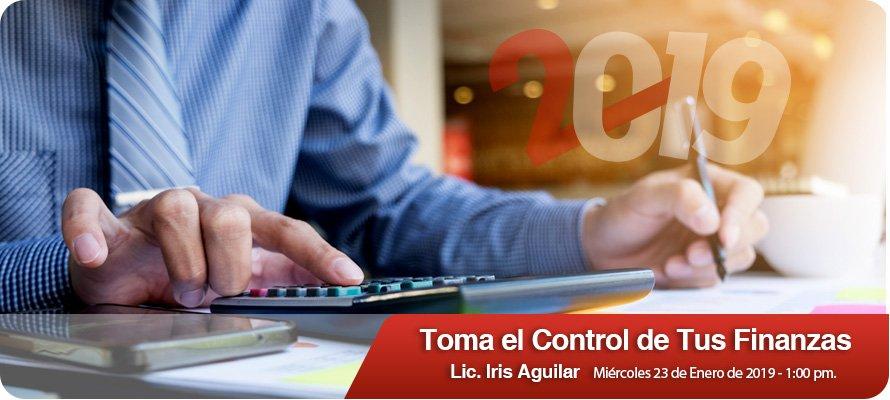 Webinar Toma El Control De Tus Finanzas