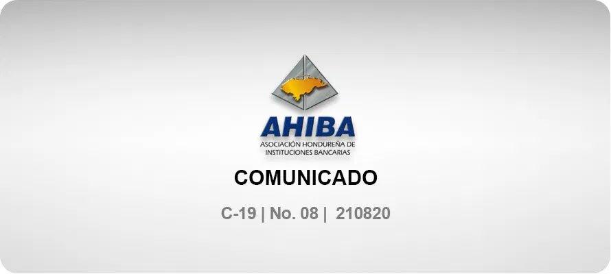 Comunicado - C-19 No. 08 210820