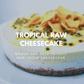 Tropical Raw Cheesecake