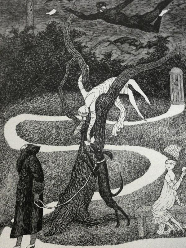 Edward Gorey Of Favourite Pen And Ink Artiste