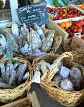 Avignon Produce Stand Sausages