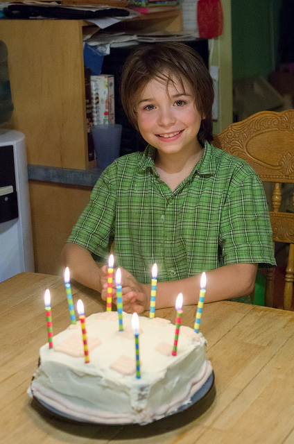 Colin is 9!