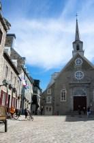 the historic Notre-Dame-des-Victoires